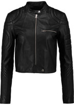 MM6 MAISON MARGIELA Quilted Leather Biker Jacket