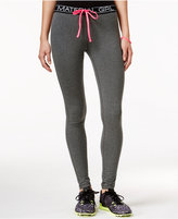 Material Girl Active Logo Drawstring Leggings, Only at Macy's