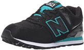 New Balance KL574 Grade Lace-Up Running Shoe (Big Kid)