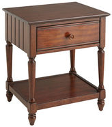 Pier 1 Imports Cottage Tuscan Brown Nightstand