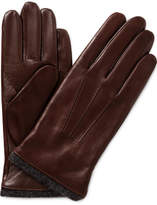 Milana TOUCH NAPPA LEATHER GLOVE W EXPOSED WOOL