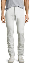 John Varvatos Wight Coated Skinny Jeans, White