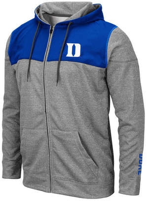 Colosseum Men Duke Blue Devils Nelson Full-Zip Hooded Sweatshirt