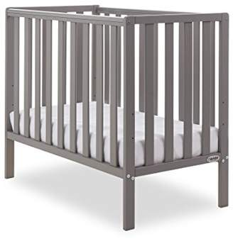 O Baby Obaby Bantam Space Saver Cot - Taupe Grey