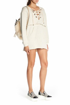 KENDALL + KYLIE Beige Sweatshirt Dress