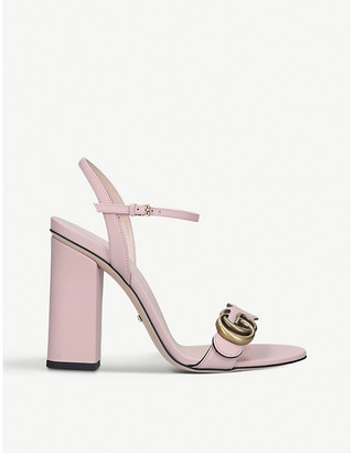 Gucci Marmont 105 leather sandals