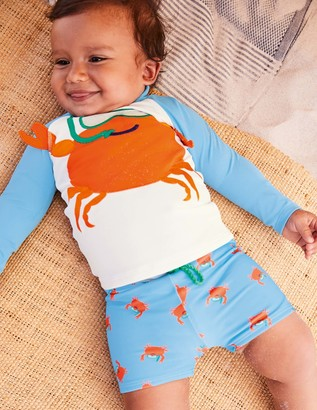 Novelty Crab Rash Vest Set
