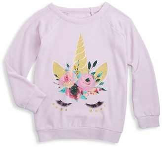 Chaser Little Girl's & Girl's Unicorn Dream Pullover