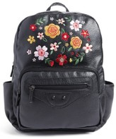 Tucker + Tate Girl's Embroidered Backpack - Black