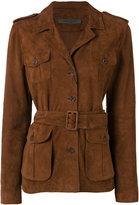 Simonetta Ravizza button-up jacket - women - Goat Skin - 42