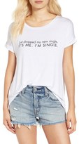 Ten Sixty Sherman 'Single' Scoop Neck Swing Tee