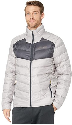 Spyder Timeless Down Jacket (Alloy) Men's Coat