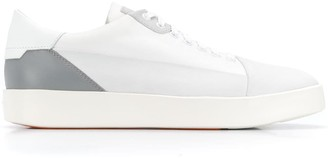 Santoni colour block sneakers