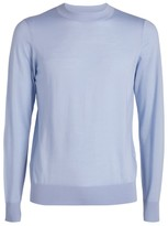 Sandro Paris Wool Fine-Knit Sweater