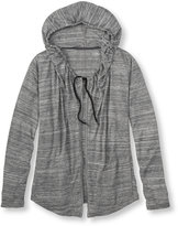 L.L. Bean Cool Down Hooded Cardigan