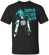 Emily Gift Shop Super Saiyan God-Vegeta-Goku-Dragon Ball T-Shirt-Unisex