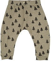 Rylee + Cru Tree-Print Cotton Pants