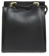 Street Level Faux Leather Convertible Backpack - Black