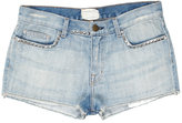 Current Elliott Silver Studded Boyfriend Short