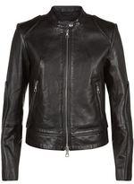 SET Leather Motorcycle Jacket