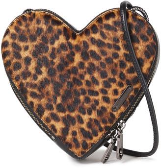 Rebecca Minkoff Leopard-print Calf Hair Shoulder Bag