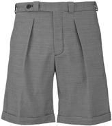 Carven Bermuda Shorts Black & White