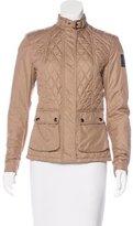 Belstaff Quilted Zip Jacket