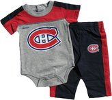 Reebok Montreal Canadiens Newborn Horizon Bodysuit & Pant Set