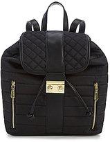 Gianni Bini Utility Quilted Nylon Backpack