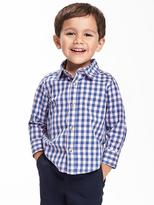 Old Navy Gingham Shirt & Bow-Tie Set for Toddler