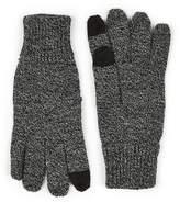 Topman Salt And Pepper Gray Touch Screen Gloves