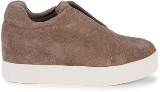 J/Slides Starr Laceless Suede Sneakers