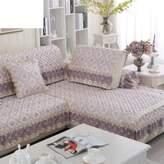 FDJKFHFCDFD European slipcover sofa,Anti-slip sofa slipcovers Fabric Simple modern Four seasons universal Sofa covers for leather sofa sectional couch cover sofa cover full cover