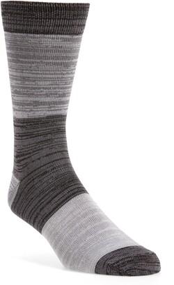 Nordstrom Ultrasoft Marled Blocked Socks