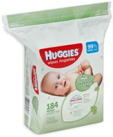 Huggies Natural Care 184-Count Unscented Baby Wipes