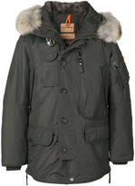 Parajumpers furry trim hooded jacket