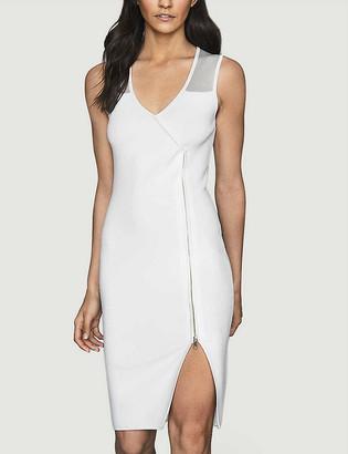 Reiss Alessia sleeveless stretch-knit midi dress
