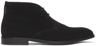 Paul Smith Black Suede Arni Boots