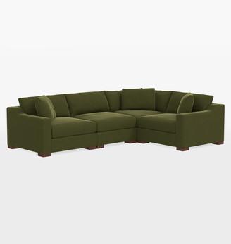Rejuvenation Sublimity Classic 4-Piece Sectional Sofa