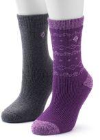 Columbia Women's 2-pk. Wool Striped Crew Socks