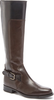 Amalfi by Rangoni Dark Brown Brunetto Leather Boot