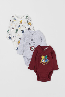 H&M 3-pack Wrapover Bodysuits