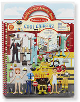 Melissa & Doug NEW Cool Careers Resusable Sticker Book