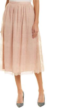 St. John Silk-Lined Pencil Skirt