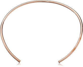 "Jules Smith Designs Americana"" Rose Gold-Plated Choker Necklace"