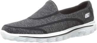 Skechers Gowalk 2 Super Sock Women's Walking Shoes Black (Bkw) 2 UK