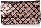 Dorothy Perkins Women's Sequin Foldover Clutch