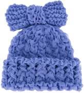 Federica Moretti knitted bow beanie