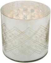 Nkuku Etched Glass Tealight Holder - Medium