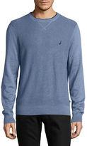Nautica Textured Crew Sweater